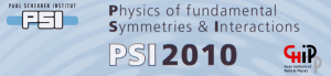 Physics of fundamental Symmetries and Interactions - PSI2010