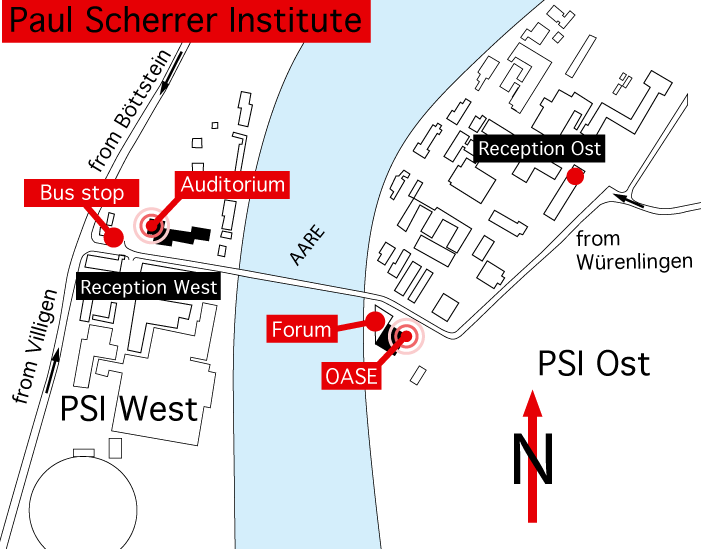 Map of PSI