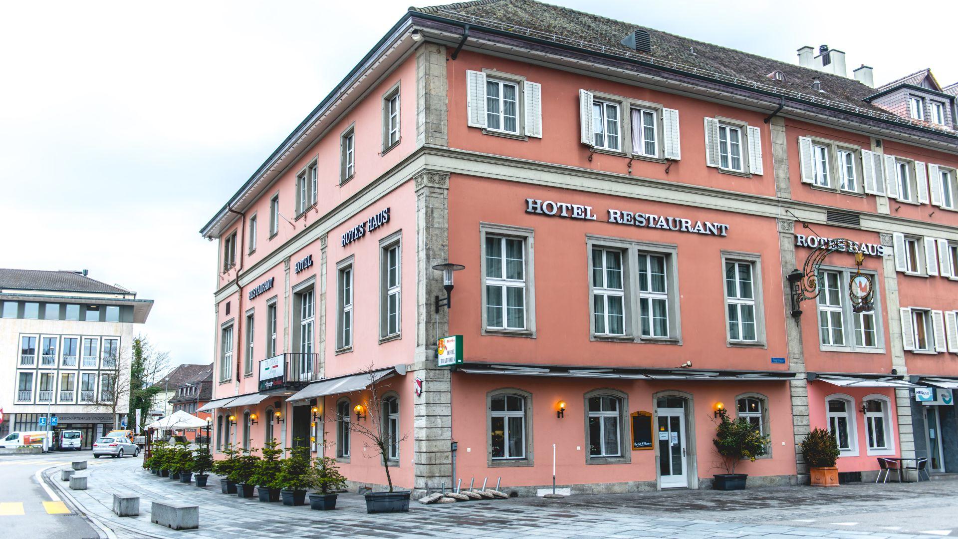 Hotel Rotes Haus Brugg